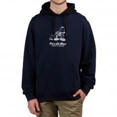 Pas De Mer Pleasure and Bus Hoodie - Navy