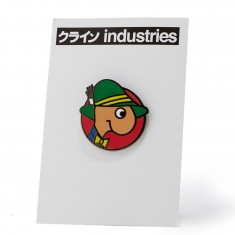 Hook-Ups Worm Enamel Pin - Multi