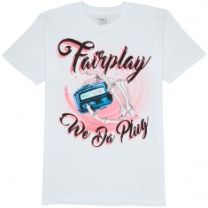 Fairplay Plug T-Shirt - White