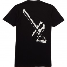 Deathwish 24th Letter T-Shirt - Black