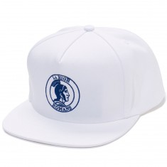 ABC Hat Co. LA High Snapback Hat - White