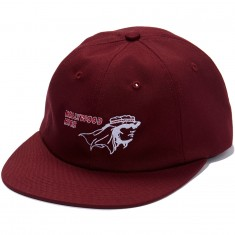 ABC Hat Co. Hollywood High Snapback Hat - Maroon