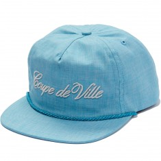 ABC Hat Co. Coupe de Ville Snapback Hat - Light Blue
