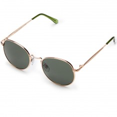 Happy Hour Holidaze Riley Hawk Sunglasses - Gold/G15