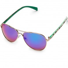 Happy Hour Mavericks Sunglasses - Gold/Bone