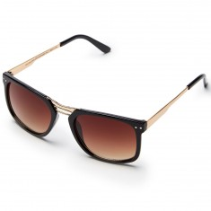 Happy Hour Kingstons Kevin Romar Sunglasses - Black/Gold