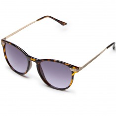 Happy Hour Les Chandelles Sunglasses - Tortoise/Rose Smoke