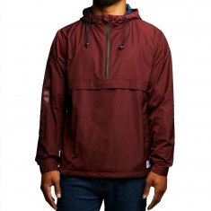 Benny Gold Stay Gold Anorak Jacket - Burgundy