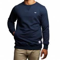 Benny Gold Warm Up Crewneck Shirt - Navy