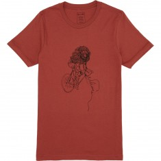 Welcome Cyclist T-Shirt - Rust