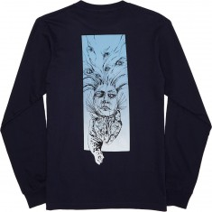 Welcome Stoker Longsleeve T-Shirt - Navy