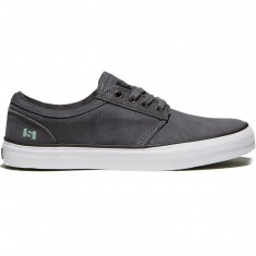 State Elgin Shoes - Pewter/Mint Suede
