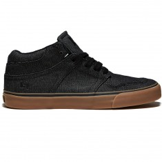 State Mercer Shoes - Black/Gum Denim