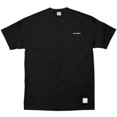 40s And Shorties Text Logo Embroidered T-Shirt - Black