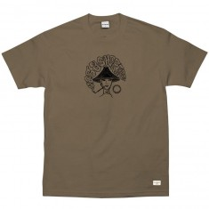 40s And Shorties Up in Smoke T-Shirt - Safari Green