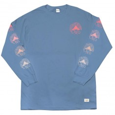 40s And Shorties Up In Smoke Longsleeve T-Shirt - Slate