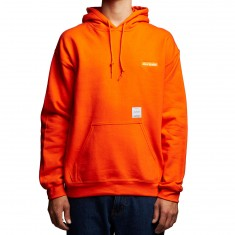 40s And Shorties Text Logo Hoodie - Orange
