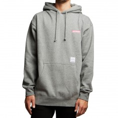 40s And Shorties Text Logo Hoodie - Heather Grey