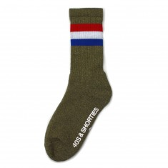 40s And Shorties Platoon Pocket Socks - Green