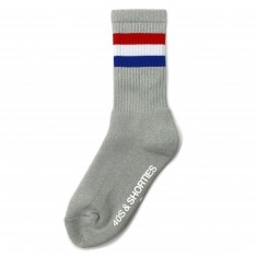 40s And Shorties Platoon Pocket Socks - Grey