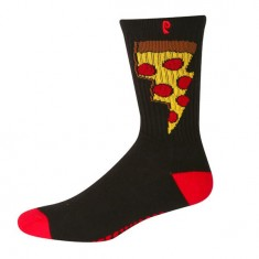 Psockadelic Doughnut Socks - Black/Red