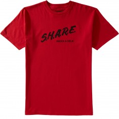 Psockadelic Share T-Shirt - Red/Black