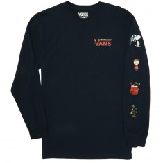 Vans X Peanuts Holiday Longsleeve T-Shirt - Navy