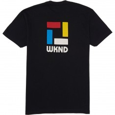 WKND Composistion T-Shirt - Black