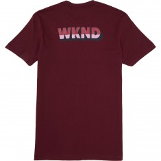 WKND Persuation T-Shirt - Maroon