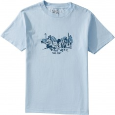 Passport Frisk Down T-Shirt - Powder Blue