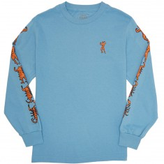 Passport Morphed Longsleeve T-Shirt - Carolina Blue