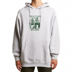 Passport No Way Out Hoodie - Heather Grey