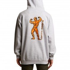 Passport Morphed Hoodie - Heather Grey