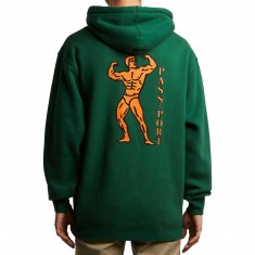 Passport Morphed Hoodie - Forest Green