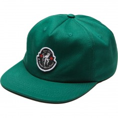 Passport Tremble 5 Panel Hat - Forest Green
