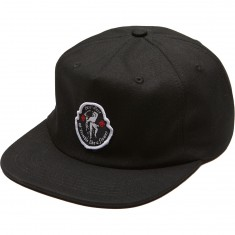 Passport Tremble 5 Panel Hat - Black