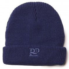Passport PP Workers Beanie - Navy