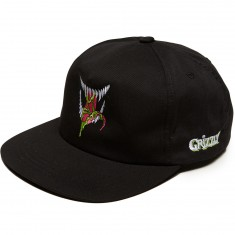 Grizzly X Venom Grin Snapback Hat - Black