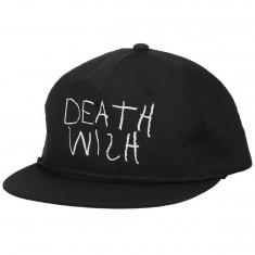Deathwish New York Minute Snapback Hat - Black