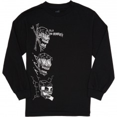 Baker No Brainer Longsleeve T-Shirt - Black