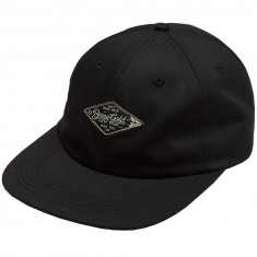 Benny Gold Diamond Label Twill Polo Hat - Black