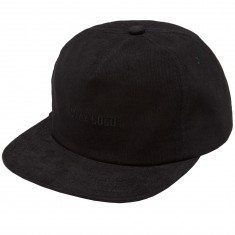 Benny Gold Stay Gold Casual Cordaroy Hat - Black