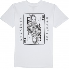 Lowcard Mudgett Card T-Shirt - White