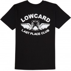 Lowcard Last Place Club T-Shirt - Black
