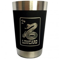 Lowcard Snake Bite Shot Glass - Stainless Steele