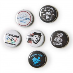 Lowcard Assorted Pin 6 Pack