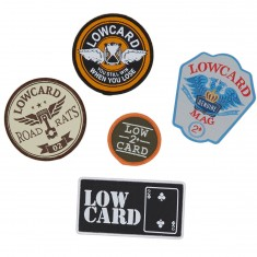 Lowcard Patch Pack Of 5 Assorted Patches