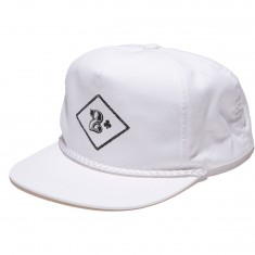 Lowcard China Club Snapback Hat - White