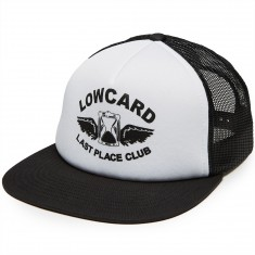 Lowcard Last Place Club Trucker Snapback Hat - Black