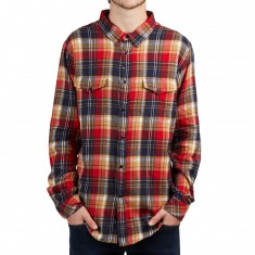 Imperial Motion Lawson Flannel Shirt - Red/Navy
